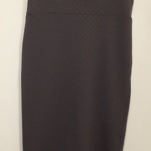 Lularoe Cassie Pencil Skirt LLR Medium M Gray